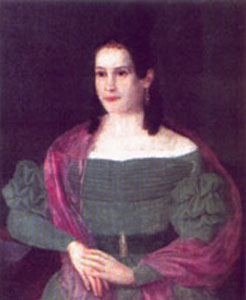 Ekaterina Kern, Anna Kern's daughter, who inspired Glinka on the creation of the romance, I recall a wonderful moment (Ya pomnyu chudnoye mgnoyen'ye).