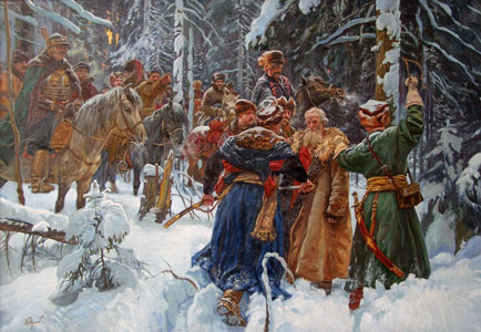 Ivan Susanin, 2002. Artist: Maxim Fayustov