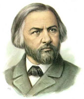 Mikhail Ivanovich Glinka (June 1, 1804 – February 15, 1857)