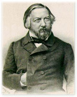 Mikhail Glinka, (June 1, 1804 – February 15, 1857), a famous Russian composer, often referred to as the father of Russian classical music.