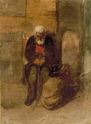 A Poor Sandomir Jew. Artist: Viktor Hartmann