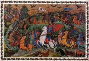 The Tale of Igor's Campaign. Artist: Ivan Golikov,1934