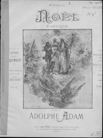 CANTIQUE DE NOËL (Adolphe Adam)