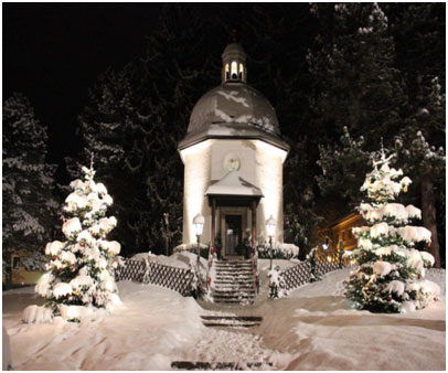 The Silent Night Chapel in Oberndorf