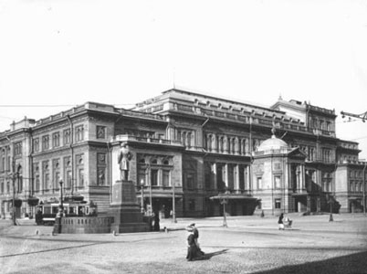 The photo of St. Petersburg Conservatory taken in 1913