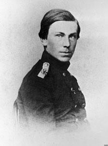 Nikolai Rimsky-Korsakov in his youth