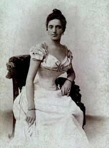Solomiya Amvrosiivna Krushelnytska (September 23, 1872 – November 16, 1952), one of the greatest soprano opera singers of the first half of the 20th century.