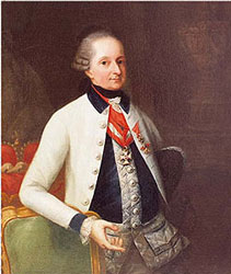 Prince Nicholas Esterházy (18 December 1714 – 28 September 1790) was a Hungarian prince, a member of the famous Esterházy family, Haydn's most important patron.
