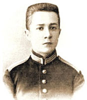 Nikolai Myaskovsky as a young man