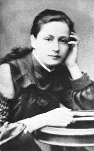 Vera Ivanovna Isakovich (Scriabina), Alexander Scriabin's first wife, 1897