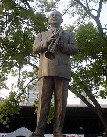 W.C. Handy Statue, Memphis