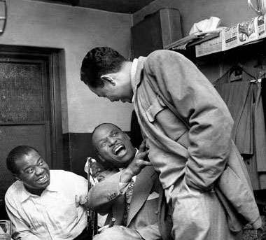 Louis Armstrong, Earl Hines, and Billy Eckstine