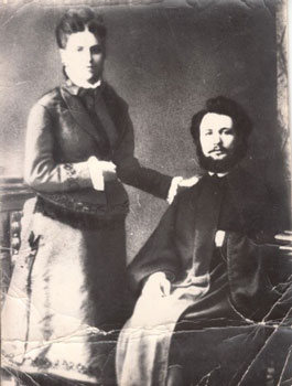 Mykola Leontovych's parents – Dmytro Feofanovych and Mariya Yosypivna