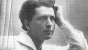 Mykola Leontovych as a young man