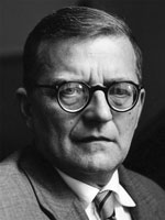 Dmitry Shostakovich (25 September 1906 - 9 August 1975)