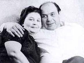 Ihor Shamo with his wife Lyudmila