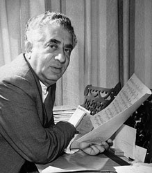Aram Khachaturian (June 6, 1903 – May 1, 1978)