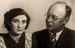 Sergei Prokofiev and Mira Mendelson
