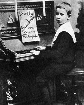 Sergei Prokofiev in 1900