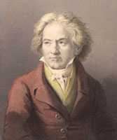 Ludwig van-Beethoven (baptized December 17, 1770 – March, 26 1827)