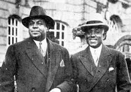 Turner Layton (left) and Clarence Johnstone (right) in 1933