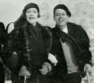 Cole Porter with his wife Linda