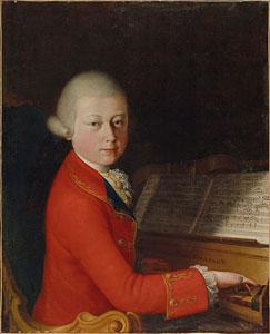 Mozart aged 14